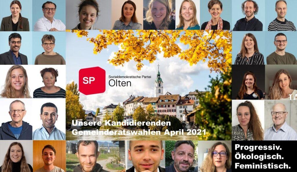 Gang love!♥️✊🏽 Nomination Oltner Stadtparlament