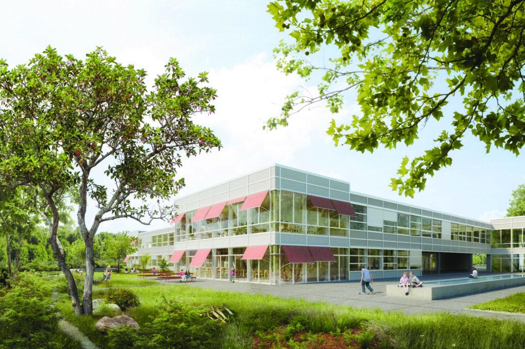 JA zum neuen Schulhaus Kleinholz mit Dreifachturnhalle!